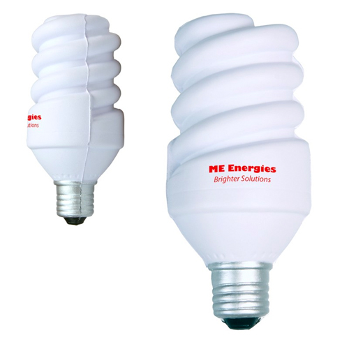 Promotional Eco Light Bulb Stress Reliever