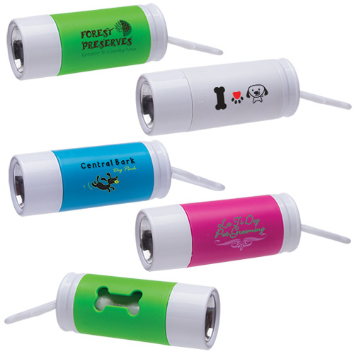 Promotional Light Up Waste Bag Dispenser