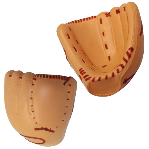 Promotional Baseball Mitt Stress Ball