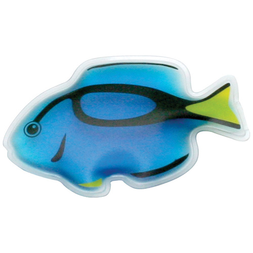 Promotional Tropical Blue Tang Fish Chill Patch