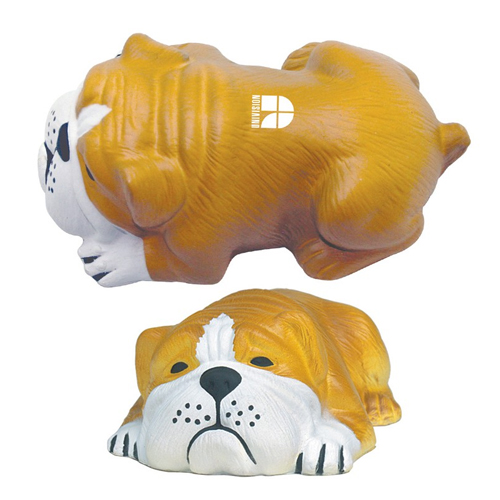 Promotional Dog Lying Down Stress Reliever