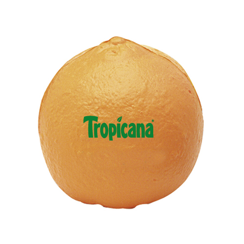Promotional Tangerine Stress Ball