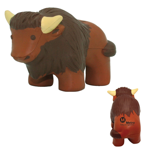 Promotional Buffalo Stress Reliever