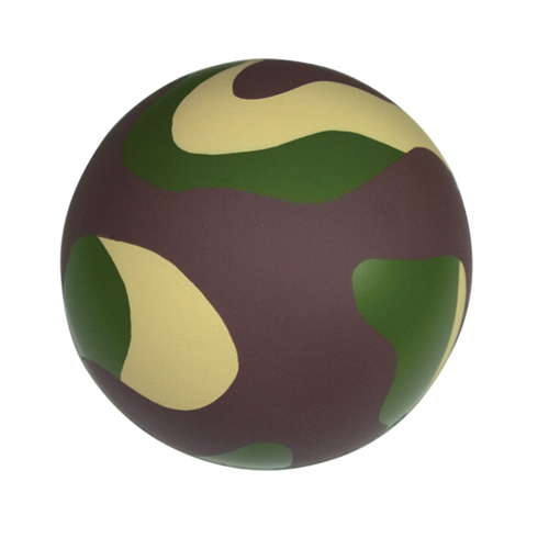 Promotional Camo Stress Reliever