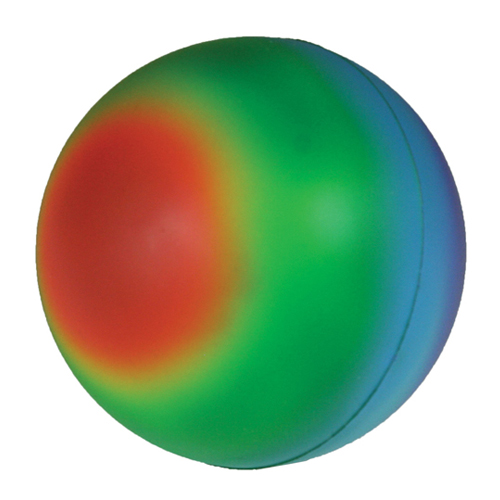 Promotional Rainbow Ball Stress Reliever