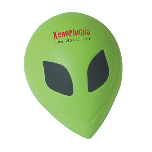 Promotional Alien Head Stress Reliever