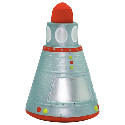 Promotional Space Capsule Stress Reliever