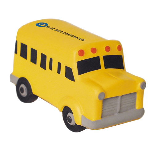 Promotional School Bus Stress Ball