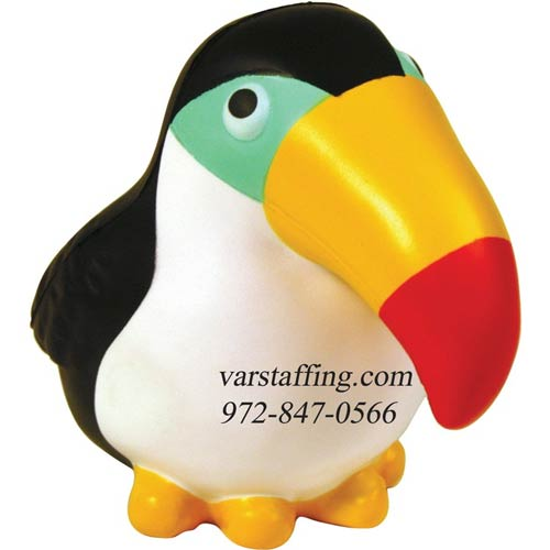 Promotional Toucan Stress Reliever
