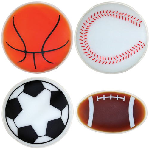 Sports Shaped Chill Patches