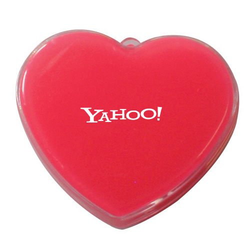 Promotional Red Heart Anti-Stress Putty