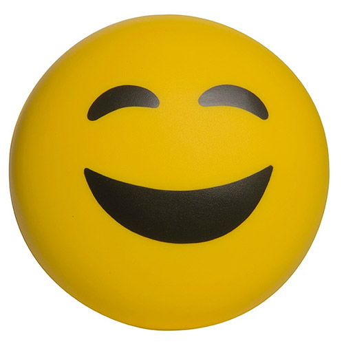 Promotional Happy Face Emoji Stress Reliever