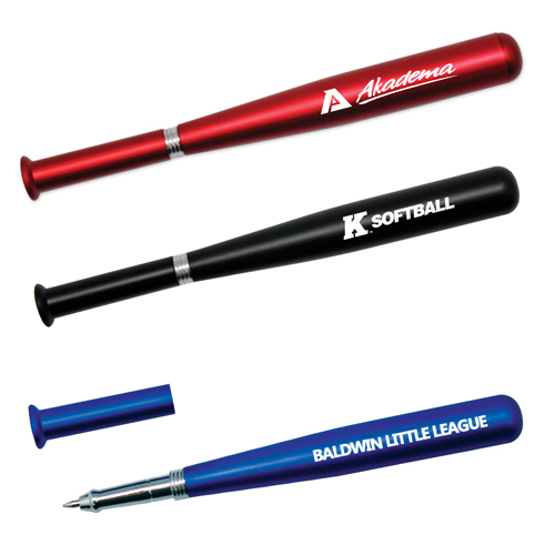 Promotional Metallic Baseball Bat Pen