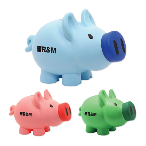 Oversized Piggy Bank