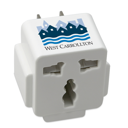Promotional ETL Wall Charger & World-Wide Adapter