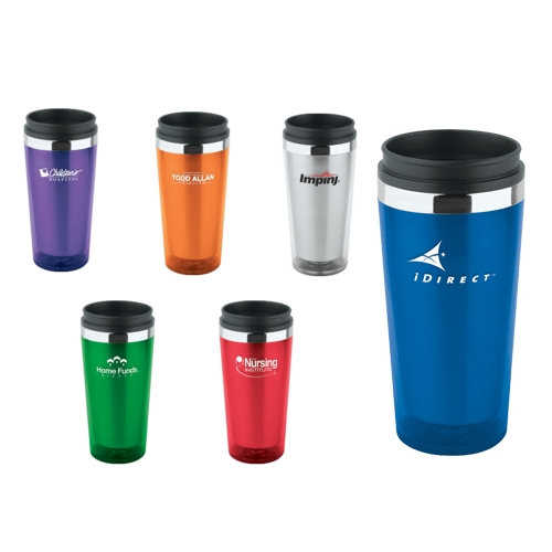 Promotional Translucent Double Wall Insulated Tumbler 16oz