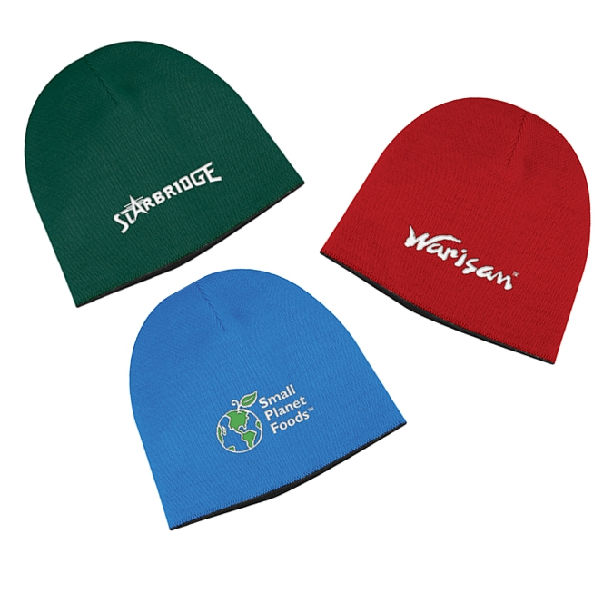 Promotional Two Tone Knit Cap