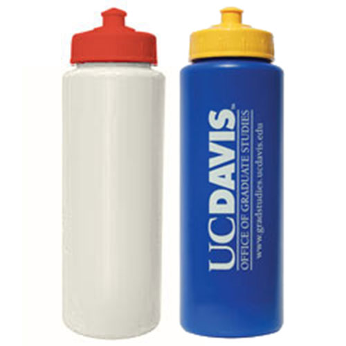 Promotional 32 oz Colored Sport Bottle