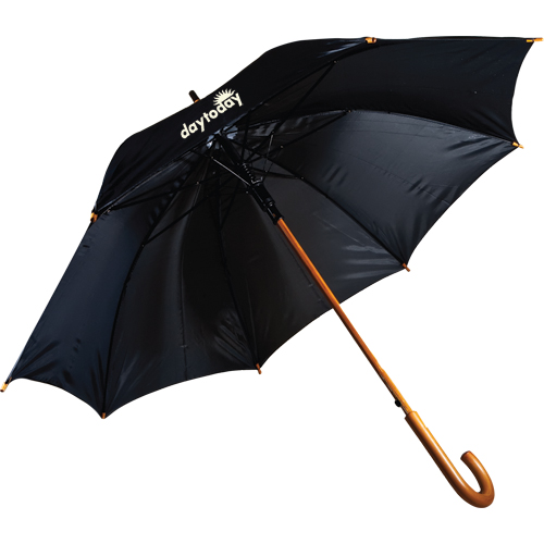 Promotional 48 Inch Lux Wood Umbrella