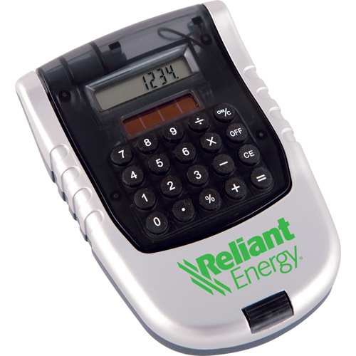 Promotional 4 in 1 Solar Calculator