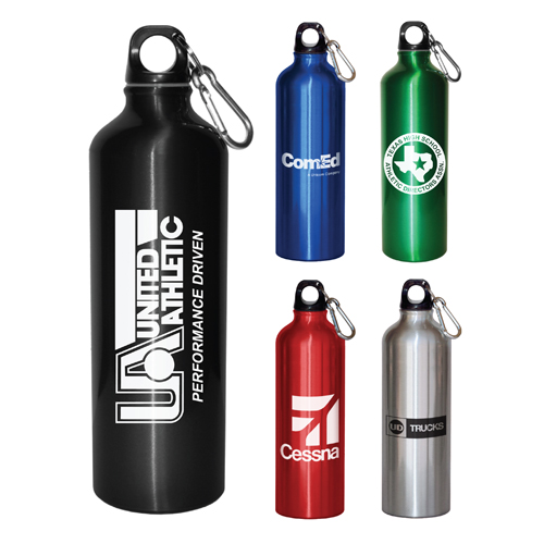 Promotional Aluminum Bottle - 28 oz