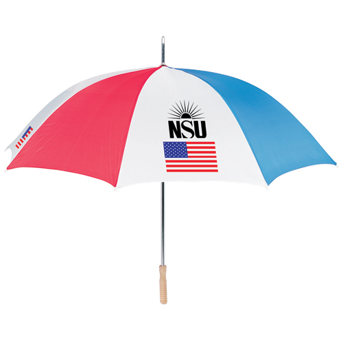 Promotional American Flag Golf Umbrella
