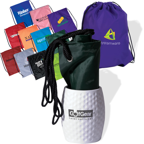 Promotional Bag-In-Golf Can Holder Combo