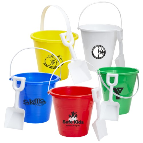 Promotional Big Pail and Shovel