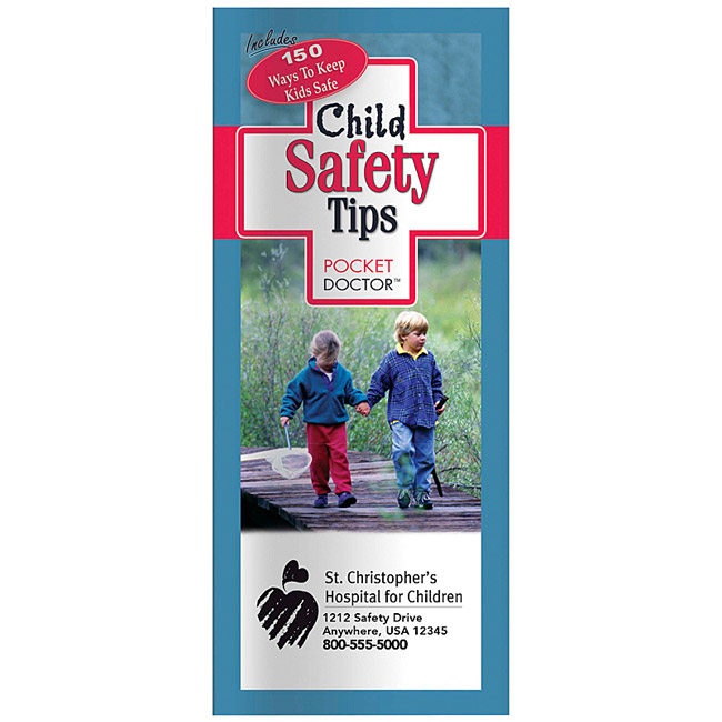 Promotional Child Safety Tips Pocket Doctor