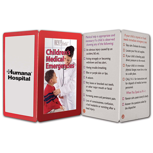 Promotional Childrens Medical Emergencies
