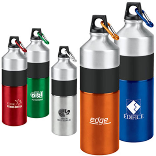Promotional Clean-Cut Aluminum Bottle 25oz