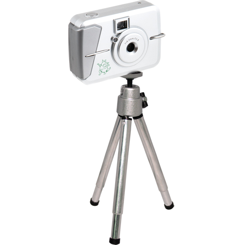 Promotional Digital Camera with Telescoping Tripod