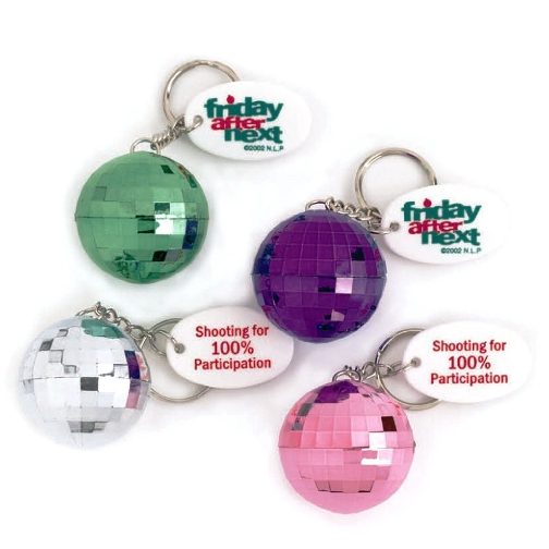 Promotional Disco Ball Keychain