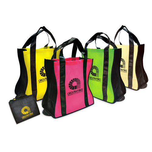 Promotional Eco Friendly Fold Up Tote