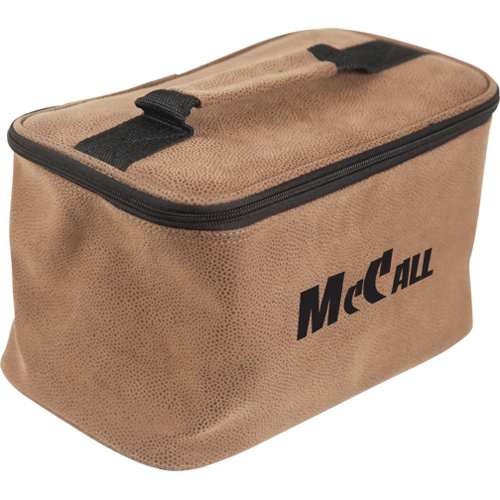 Promotional Embossed Suede-Like Toiletry Bag