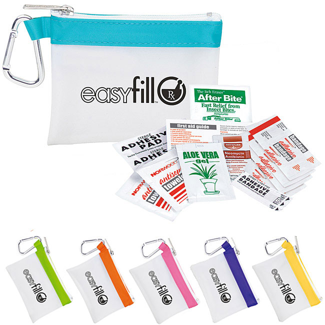 Promotional Frosty Stripe First Aid Kit