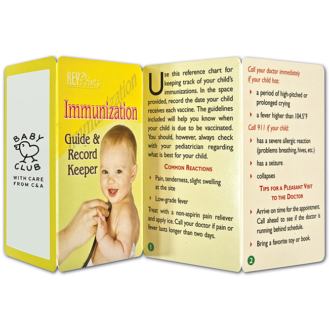 Promotional Immunization Guide & Record Keeper