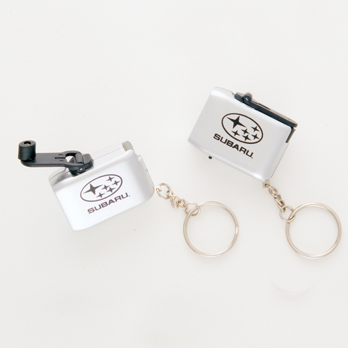 Promotional LED Crank Light Key Chain
