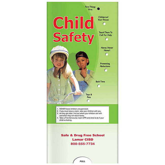 Promotional Pocket Slider Child Safety