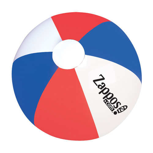 Promotional RWB Beach Ball 12 Inch