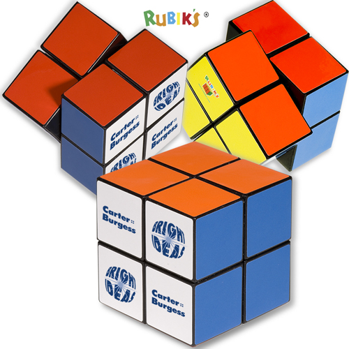 Promotional Rubiks 4 Panel Full Cube