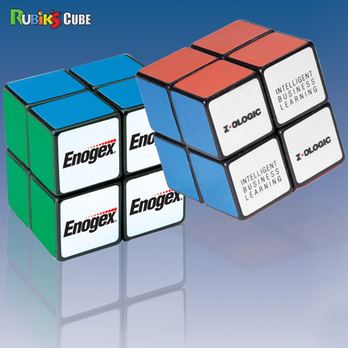 Promotional Rubik's Cube 4 Panel Mini Cube
