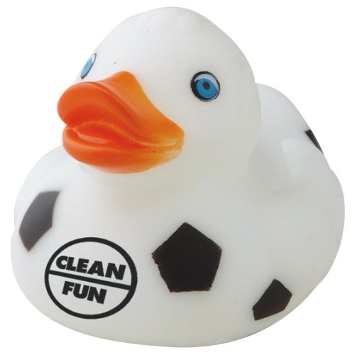 Promotional Soccer Sports Rubber Ducks