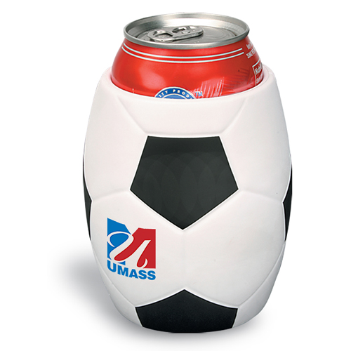 Promotional Soccer Can Holder