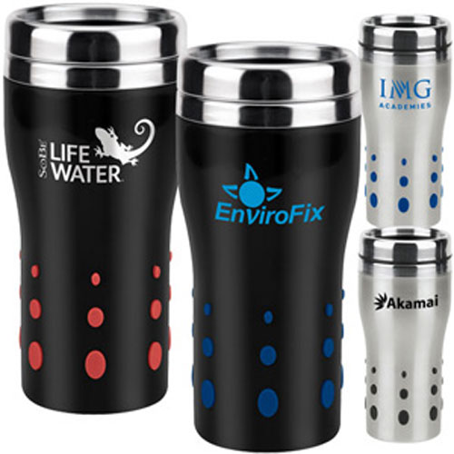 Promotional Stainless Dot Matrix Tumbler 16oz