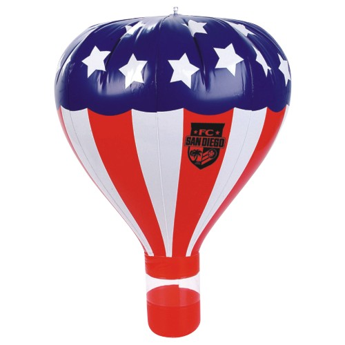 Promotional Stars & Stripes Hot Air Balloon