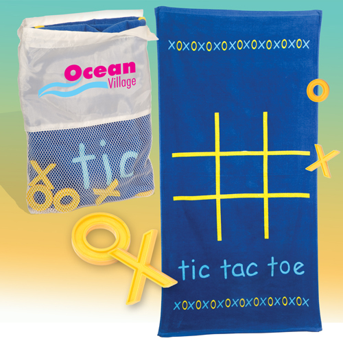 Promotional Tic-Tac-Towel Kit