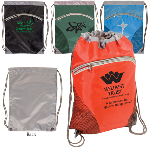 Promotional Zip Pouch String-A-Sling