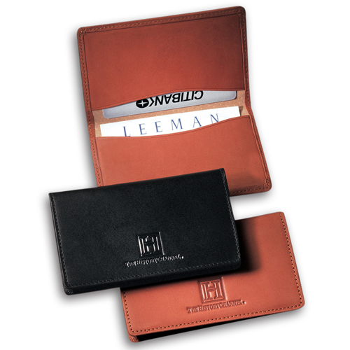 Promotional Alpine Calfskin Card Case