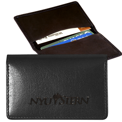 Promotional Alpine Cowhide Card Case